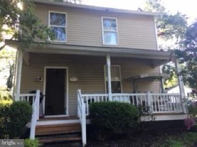 Culpeper County Single Family Home For Sale: 915 S. West Street