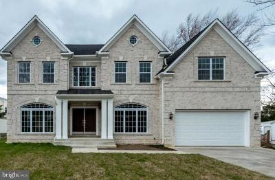 Fairfax County Single Family Home For Sale: 7718 Lunceford Lane
