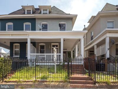 Washington Single Family Home For Sale: 3561 11th Street NW