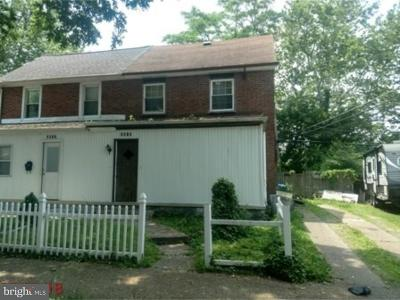 Camden Single Family Home For Sale: 3015 Tuckahoe Road