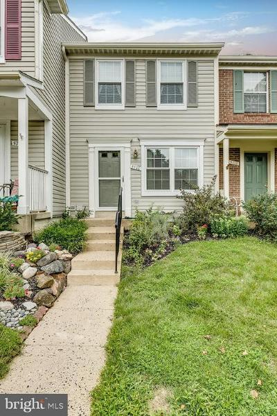 Centreville, Clifton Townhouse For Sale: 5720 Harrier Drive