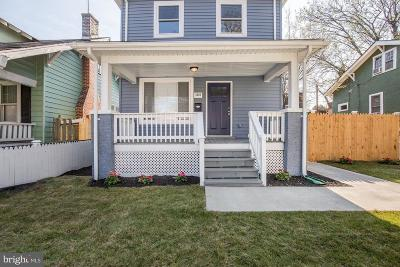 Single Family Home For Sale: 5408 Illinois Avenue NW