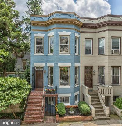 Dupont Circle Townhouse For Sale: 1748 Church Street NW