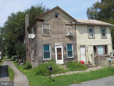 Duncannon Single Family Home For Sale: 29 Front N