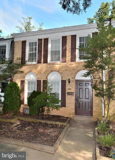 Reston Townhouse For Sale: 11910 Sloane Court
