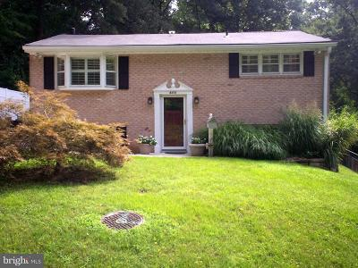 Berwyn Heights MD Single Family Home For Sale: $394,900