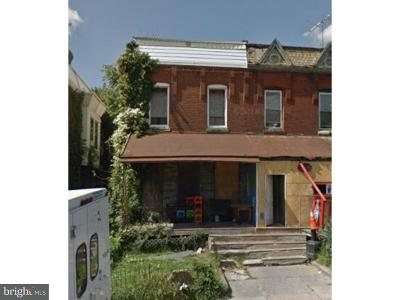 Philadelphia Single Family Home For Sale: 1646 N 55th Street