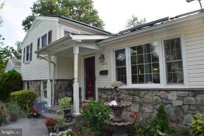 Montgomery County Single Family Home For Sale: 11114 Woodson Avenue