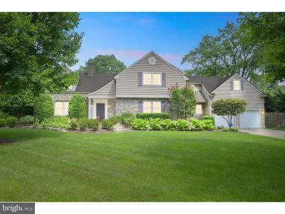 Moorestown Single Family Home For Sale: 311 N Colonial Ridge