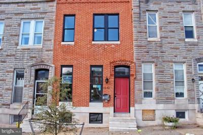 Baltimore Townhouse For Sale: 1632 Broadway