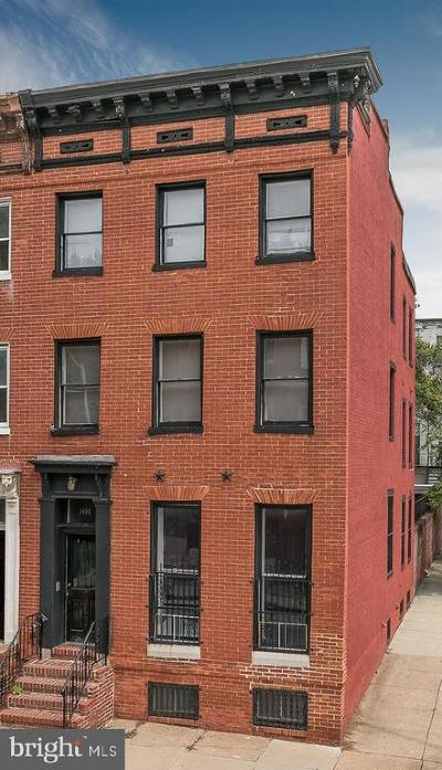 Baltimore Townhouse For Sale: 1401 Druid Hill Avenue