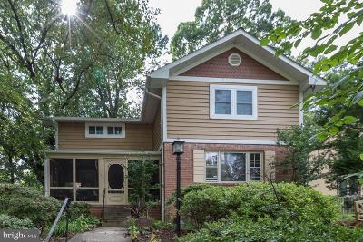Silver Spring Single Family Home For Sale: 9206 Whitney Street