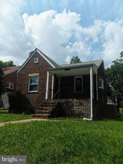 Washington Single Family Home For Sale: 1720 Franklin Street NE