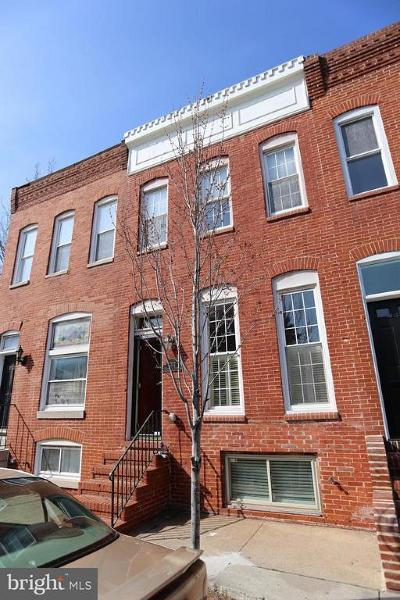 Baltimore Townhouse For Sale: 3032 O'donnell Street