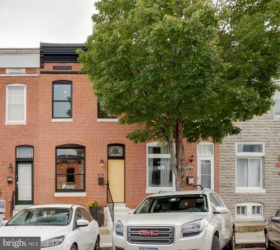 Baltimore Townhouse For Sale: 413 Clinton Street S