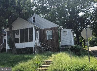 Capitol Heights Single Family Home For Sale: 4201 Vine Street