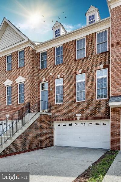 Chantilly Townhouse For Sale: 25196 Bald Eagle Terrace