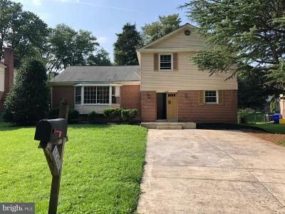 Silver Spring Single Family Home For Sale: 12718 Saddlebrook Drive