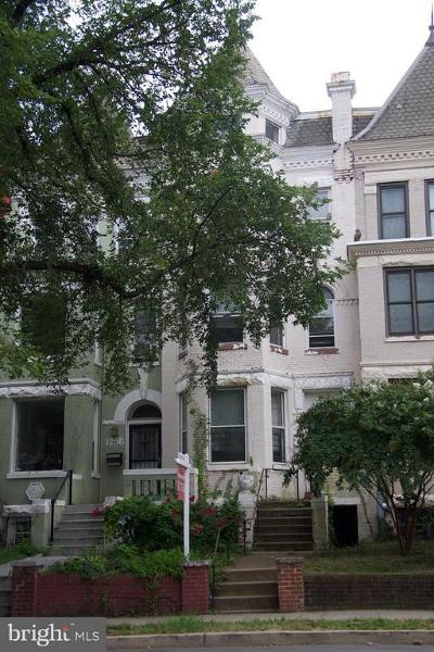 Washington Townhouse For Sale: 1258 Columbia Road NW