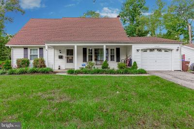 Bowie Single Family Home For Sale: 4508 Orangewood Lane