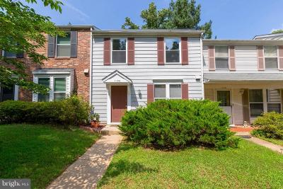 Silver Spring Townhouse For Sale: 1120 Sandy Hollow Court