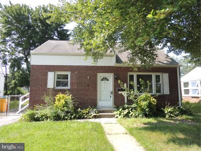 Wilmington DE Single Family Home For Sale: $169,900