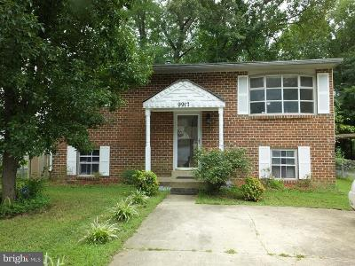 Lanham Single Family Home For Sale: 9917 Grant Street