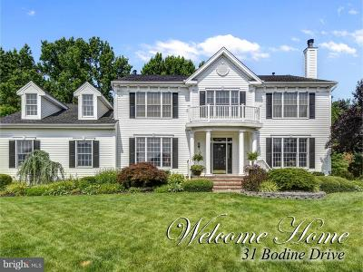 Cranbury Single Family Home For Sale: 31 Bodine Drive