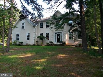 Sicklerville Single Family Home For Sale: 1580 Jarvis Road