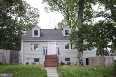 Single Family Home For Sale: 7761 Frederick Court