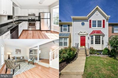 Prince William County Townhouse For Sale: 11307 Kessler Place