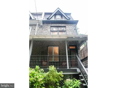 Philadelphia Single Family Home For Sale: 626 W Rittenhouse Street
