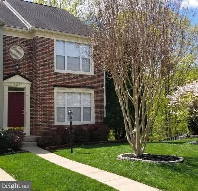 Prince William County Townhouse For Sale: 4223 Kenton Circle