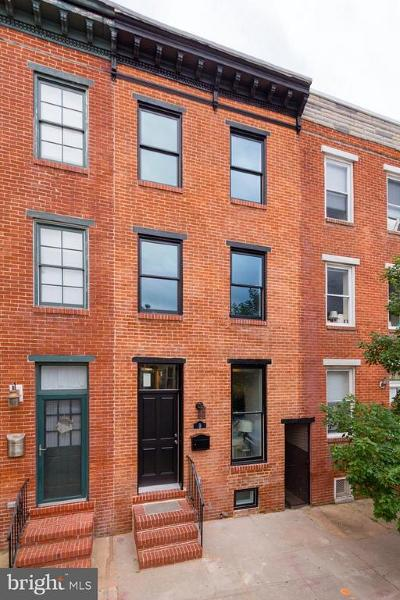 Baltimore Townhouse For Sale: 9 Fort Avenue