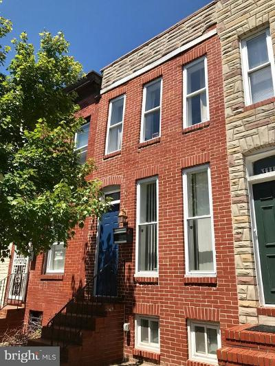 Baltimore City Townhouse For Sale: 1112 Carroll Street