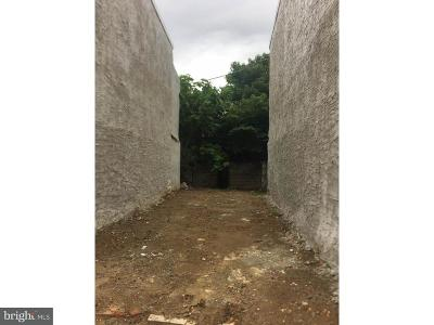 Point Breeze Residential Lots & Land For Sale: 2307 Cross Street
