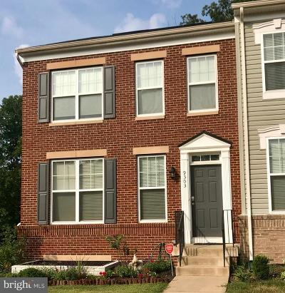 Bristow Townhouse For Sale: 9303 Dawkins Crest Circle