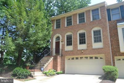 North Bethesda Townhouse For Sale: 11441 Hollowstone Drive