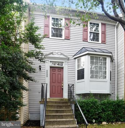 Centreville Townhouse For Sale: 5559 Pickwick Road
