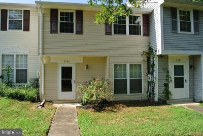 Charles County Townhouse For Sale: 4360 Eagle Court