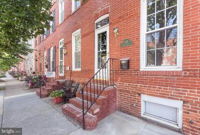 Locust Point Townhouse For Sale: 1459 Andre Street