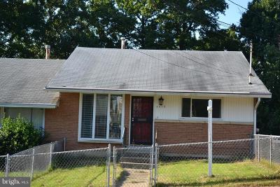 Temple Hills Single Family Home For Sale: 2622 Afton Street