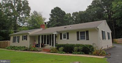 Grasonville Single Family Home Active Under Contract: 109 Rebel Road