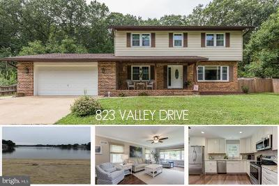 Crownsville Single Family Home For Sale: 823 Valley Drive