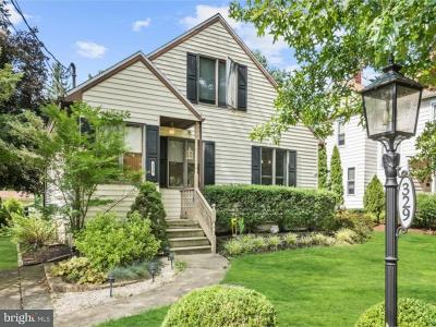 Moorestown Single Family Home For Sale: 329 Linden Street