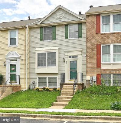 Anne Arundel County Townhouse For Sale: 729 Dayspring Drive