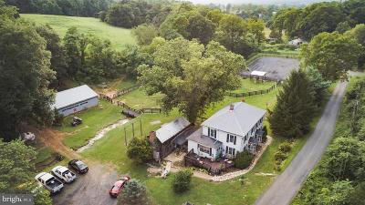 Strasburg Single Family Home For Sale: 1463 Mt Hebron Road