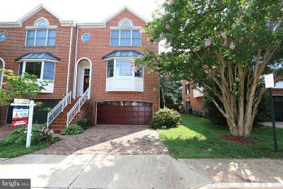 Vienna Townhouse For Sale: 8160 Madrillon Court