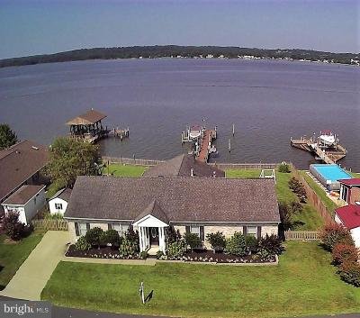 Dares Beach, Prince Frederick Single Family Home For Sale: 301 Overlook Drive