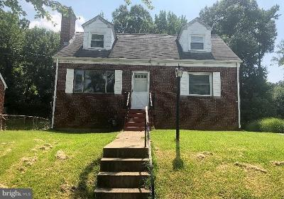 Hyattsville Single Family Home For Sale: 5505 Monroe Street